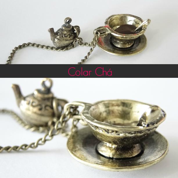 colar chá